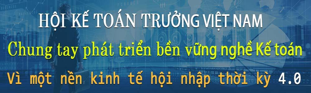 Hội kế toán trưởng Việt Nam - Nghề kế toán  4.0