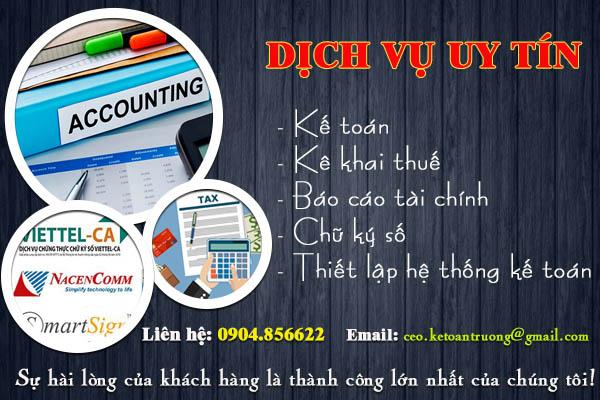 Dịch vụ kế toán chuyên nghiệp - Cộng Đồng Kế Toán Việt Nam